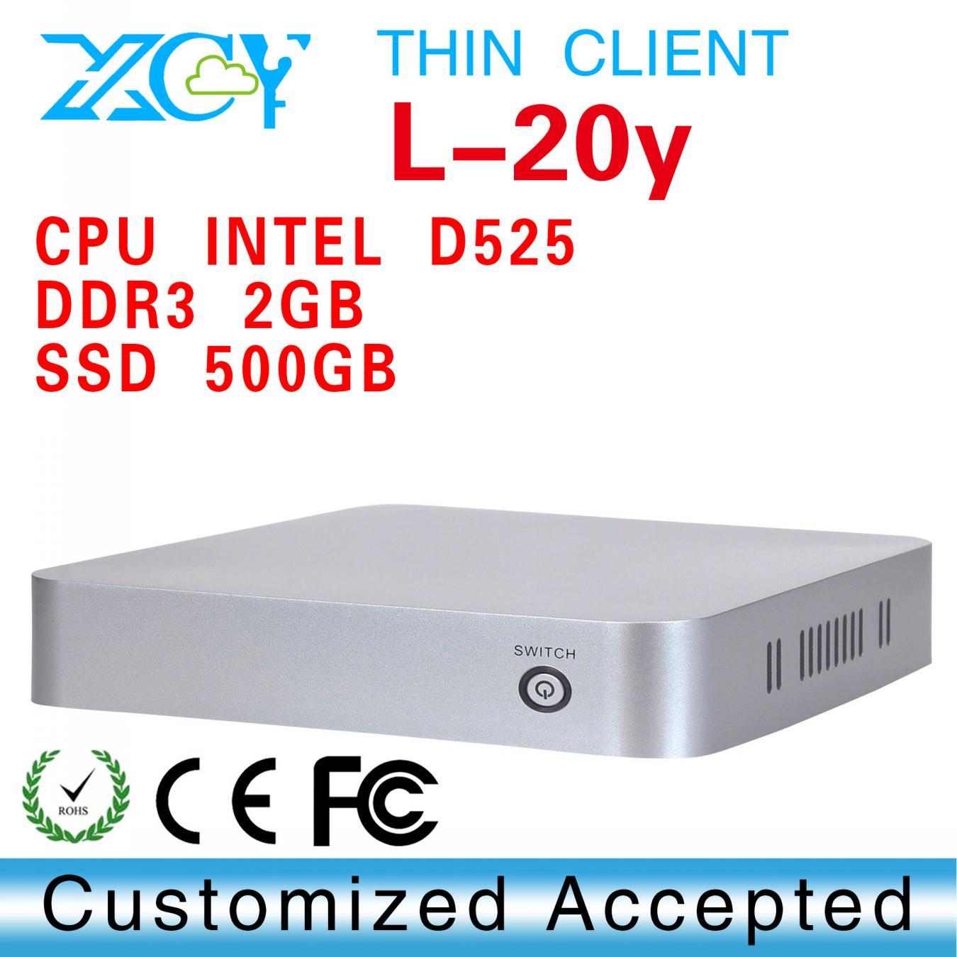 XCY L-20Y mini pc rs232, ncomputing x300 box pc, thin client computer no noise, less heat(China (Mainland))