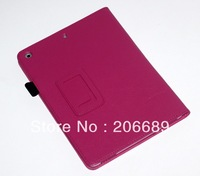 Wholesale(300PCS) Good Quality Multicolor Protector Skin Folio Stand PU Leather Case For Apple iPad Air Cover