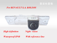 High Quality Parking Camera Car Reverse Camera for RENAULT S.A.KOLEOS,Rear View&HD&Night Vision Waterproof With Reference Line