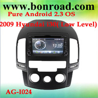 s150 android 2.3 os car dvd player for 2009 low level i30