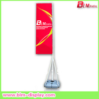 Aluminum alloy outdoor flying banner in size 5m water tank flag banner for big event
