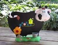Meters fashion cow small blackboard message board door plate