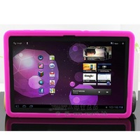 Slip-resistant 7 xmart fairy  for SAMSUNG   p7500 tablet set shell protective case silica gel shell