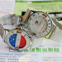 2013 New Luxury Crystal Dress Hour Wrist  Watch Women Men Brand Gift