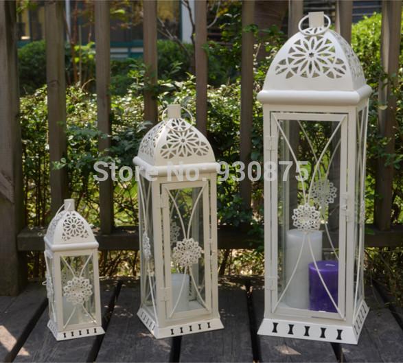 Promoci n de candelabros de piso compra candelabros de - Lanterne da giardino ikea ...