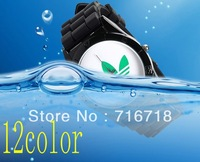 Drop Shipping  Free shipping, 3 leaf grass, beautiful fashion watches, fashion sports watches, clocks watches 12color DHL EMS