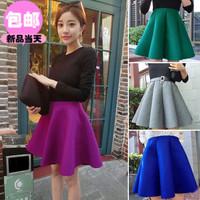 2014  recommended ! woolen excellent design full skirt bust skirt multicolor g8