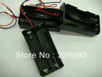 freeshipping BATTERY HOLDER/CASE /BOX with 2positions for 18650 battery with flat head ,200pcs/lot