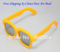 Children Size Passive Real D type Circular  polarized 3d glasses+free shipping