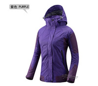 2013 New High Quality Female 2in1 Winter Jacket Woman Coat Windbreaker Jacket