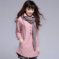 2013 autumn and winter fashion coat single breasted a980