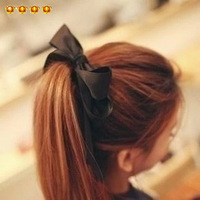 Accessories fashion fabric double layer bow headband tousheng hair accessory 8458