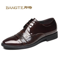 2014 new men, the first layer of leather, shopping business, apartments, oxford shoes, men leather shoes, free shipping
