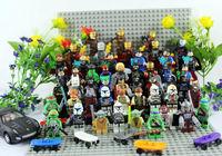 Hot Classic Toys  50pcs Super Heroes Figures All Family Figuers Ninja Turtle Batman/Ironman/Hulk/American Captian Building Block