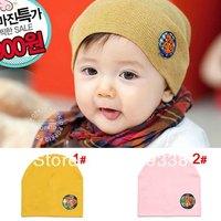 Baby Beanie hat Toddler girls boya beanie hat Infant cap 10pcs/lot H383