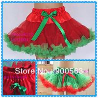 green tutus, Christmas skirts, white pettiskirt
