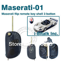 New shipments  Three buttons car key shell Maserati