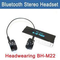 Free Shipping BH-M22 HEADWEARING STEREO BLUETOOTH HEADSET/HEADPHONE