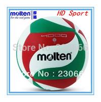 New 2014 Brand Of Molten Volleyball PU Soft Offical Match Size 5 Standard Volleyball Waterproof Free Shipping