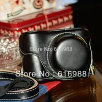 Wholesal! NEW camera cover bag imitation leather case  for panasonic lumix GX7 gx7 (X14-42mm lens) camera case bag Free shipping