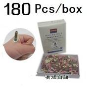 Free shipping Self-sticking point moxa stick Mini Stick-on Moxa Stick(180pcs/box) Moxibustion Therapy