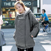 2013 loose thick sheep fleece thermal big size clothing  thickening wadded jacket cotton-padded coat