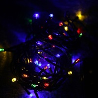 Solar 50 LED String Fairy Lights Christmas Party Outdoor Garden Decorations Lights,Free Shipping+Drop Shipping