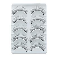 Hot Sale Charming Black False Eyelashes Natural New 2013 Designer Makeup Human Hair Eyelash Include Professional Glue For Lashes
