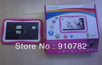 Kids Tablet PC  promo with Educational Apps & Kids Mode 7 inch 1024*600pix Android 4.1 Kids Tablet PC
