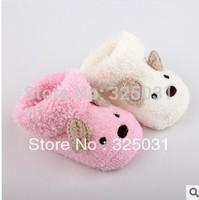8pcs/lot  Cute Cartoon Baby Socks Bear Manual Slipper Shoes Newborn to 5 Month Autumn Winter Infant Gift Drop Shipping