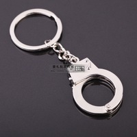 New arrival handcuffing style handcuff keychain full metal key chain mini logo
