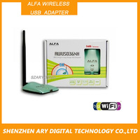 10pc/lot  ALFA AWUSO36NH Alfa Wireless N USB ADAPTER with 5dbi antenna