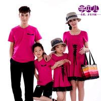 Belle eonothem family pack summer tendrils 2013 family fashion summer family women's set one-piece dress
