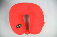 G838 2013 New Hot Sale 1pcs A Six-speed Adjustable Neck Massager U Shape Electric Nap Pillow Red Ming Blue Gray and Violet