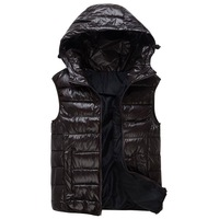 003 2013 winter new arrival fashion men's vest, casual fitness men parkas ,warm clothing men free shipping