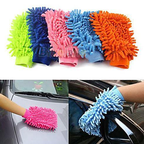 Super Mitt Microfiber Car Wash Washing Cleaning Gloves Car Washer Wholesale 1ODM(China (Mainland))