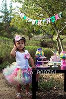 Rainbow Toddler tutu skirt ,Petti Tutu,girls tutu skirt , baby tutu , birthday tutu skirt MOQ 1 pc