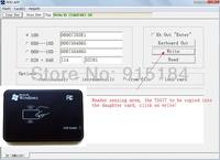 125KHz RFID ID Card Reader & Writer/Copier/Programmer + FREE Rewritable ID Card & KeyFob COPY ISO EM4100 EM4102 Proximity T5577