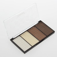 1 PCS 4 in 1 Four Color Contour Shading Pressed Powder Highlight Make-up Cosmetic Free Shipping