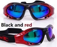 ski goggles - Child Snowboard Snowmobile Motorcycle bike Ski Goggles Eyewear Frame Coloured Lens cycling sunglasses