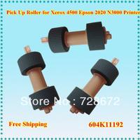 Retail 20pcs Pickup roller printer spare parts 604k11192 / 604K19890 Pick up roller for Xerox 4500 Epsno 2020  N3000  Printer