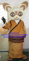 Shifu Racoon From Kung Fu Panda Mascot Costume Cartoon Character Mascotte Suit No.1199 Free Shipping
