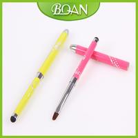 New Arrival Colorful 8# Nail Gel Pen Gel nail brush Metal Nails Drawing Gel Pen Free Shipping