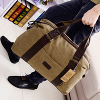 Canvas women's bag one shoulder cross-body handbag fashion bags male travel bag big bag