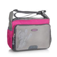Outdoor casual sports women's oblique shoulder bag travel bag student school bag fashion female sports bag