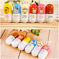 free shipping novelty commercial small gift for children colorful pen christmas and new year gift