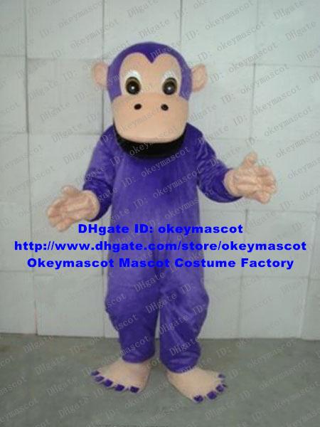 Purple Gorilla Costume Gorilla Mascot Costume
