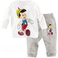 high quality 100% cotton 2-7 years baby bodysuits  suit for boy winter suits