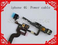 On Sale New Replacement Parts Light Sensor Power Button Flex Cable for iPhone 4 4G MOQ:1pcs