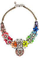 Wholesale shourouk Chain chunky necklace Choker statement necklaces & pendants fashion flower Necklace 2014 women Christmas gift